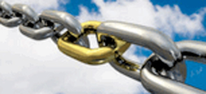 Chain-golden-link