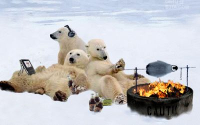 How do polar bears eat penguins? Probably not the way you think!