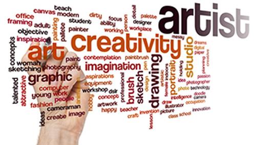 Creativity---Artist-Collage