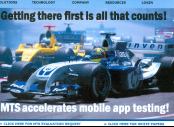 Scalable testing accelerates time to market.
